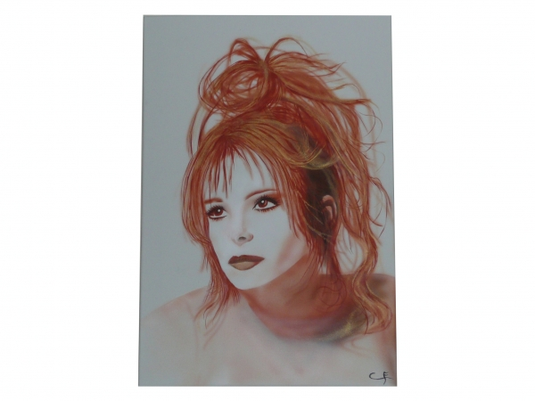 Mylène Farmer by caloma